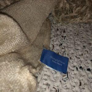 Simply Vera tan scarf
